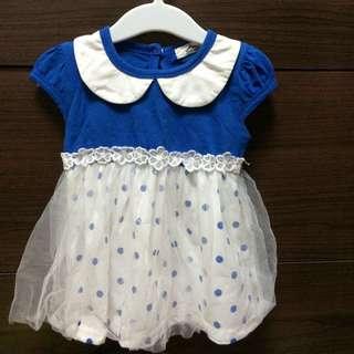 寶寶洋裝。3號。60~75公分可穿。8.5成新