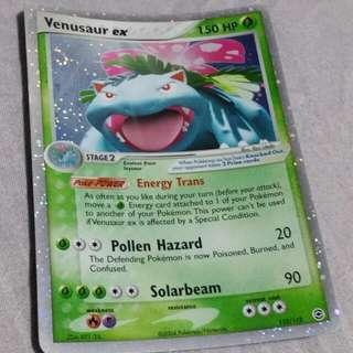 Venusaur Ex Pokemon Card