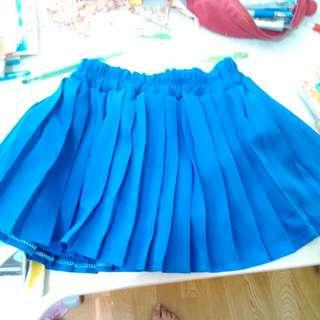 百搭早秋裙款 寶藍色
