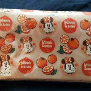 日本東京迪士尼 米妮 3way包 面紙 卡包 零錢包