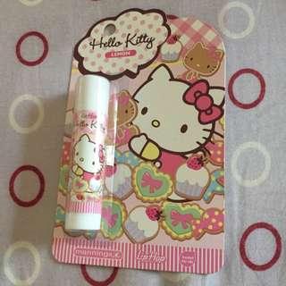 Kitty檸檬潤唇膏