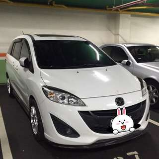 Mazda5白色7人座(自售,無誠勿入)