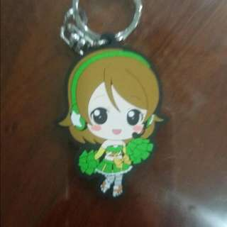 Love Live Hanayo cheerleader keychain