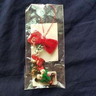 日本東京迪士尼 可愛米奇米妮冬季限定版 圍巾 聖誕限定版 絕版品