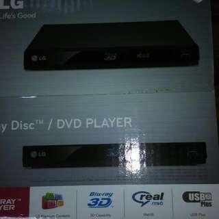 LG 3D Bluray Disc/DVD Player