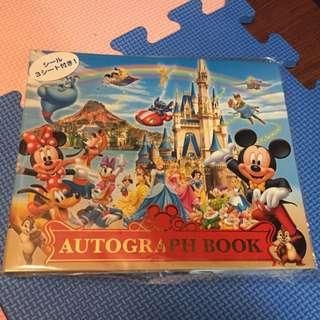 迪士尼紀念冊