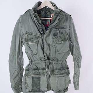 現貨 極度乾燥 superdry flag jacket M號