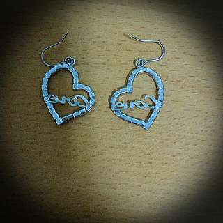 Love耳環 (一副)