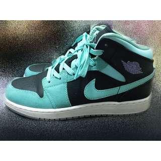 Jordan 1 Tiffany綠配色