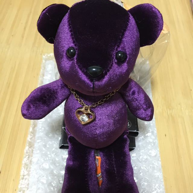 🆕 歐比邁奢華項鍊熊