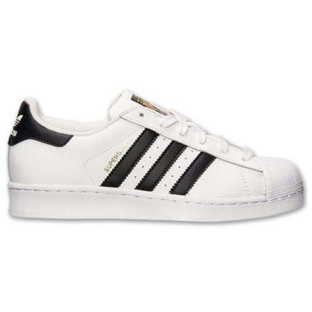 Adidas  Superstar 經典百搭黑白款