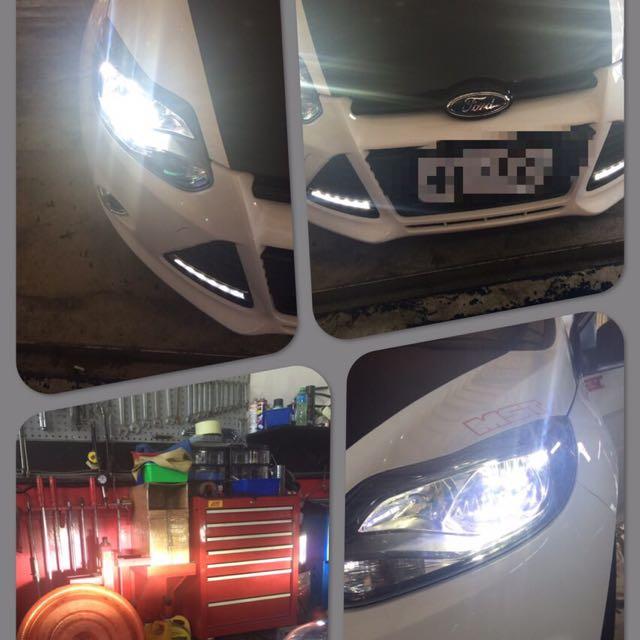 LED大燈 H7 H4 H11