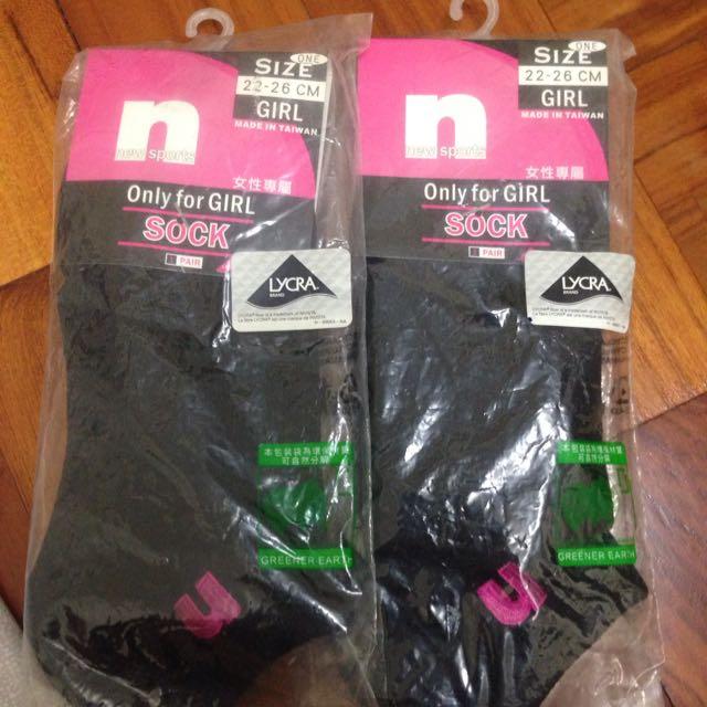 New Sports 女性專屬襪 (二雙)