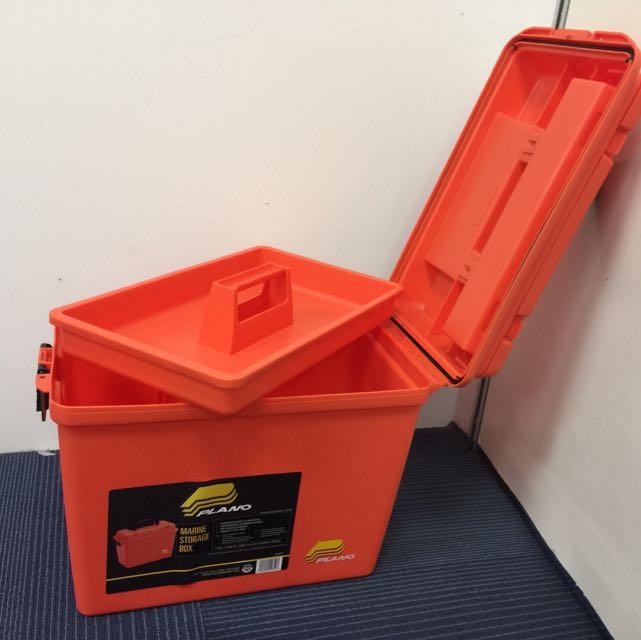 & PLANO Extra Large Dry Marine Storage Box Sports on Carousell