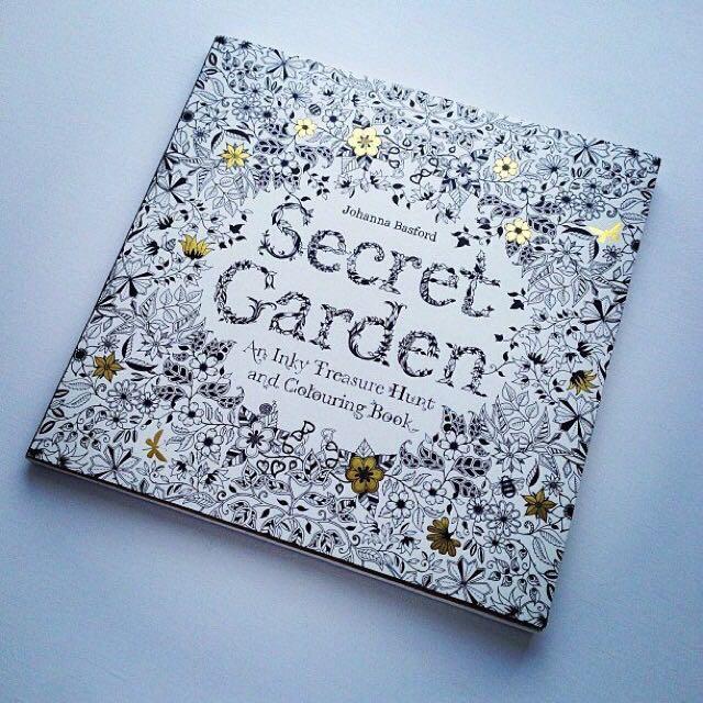 Secret Garden Books Stationery On Carousell