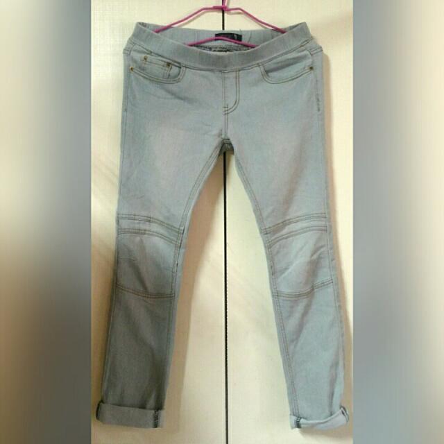 長褲(膝蓋特別設計)size:M~L微彈
