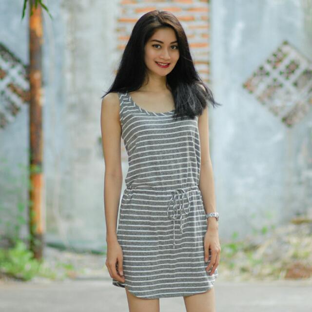 GAP Stripes Mini Dress