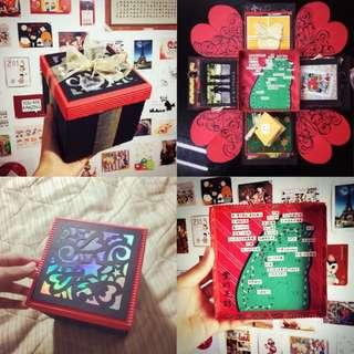 禮物盒卡片🎁