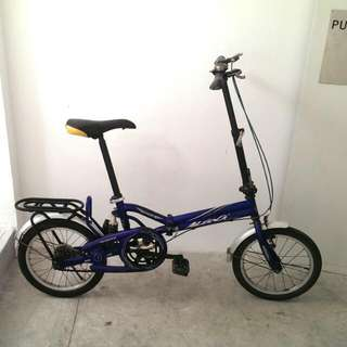 Folderble Bicycle (2nd Hand)