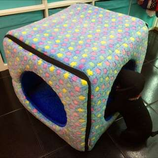 Handcrafted Pet Bed (cube)