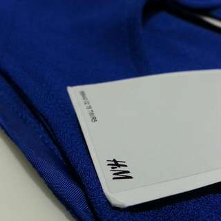 H&M 寶藍洋裝
