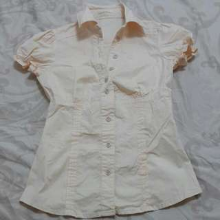 二手淺粉襯衫