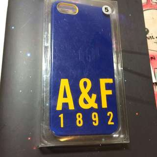 正品 Abercrombie and Fitch a&f 手機殼 I5/i5s適用