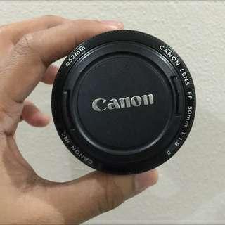 Canon 50mm F/1.8 Lens Mk2