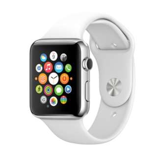 Apple Watch 38mm Steel - White