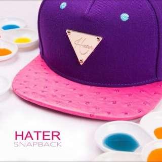 Hater SnapBack 糖果駝鳥-紫