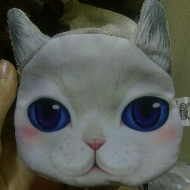 超夯超可愛的貓咪零錢包