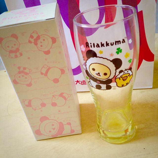 拉拉熊 玻璃杯