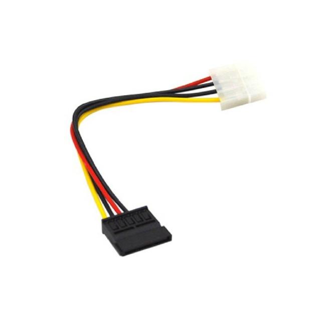 [全新現貨] 電腦電源 IDE 4pin(公) 轉 SATA電源線(母)