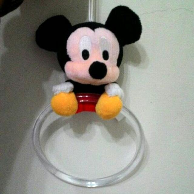 全新!米老鼠 米奇&米妮 Mickey&Minnie 玩偶 Disney 迪士尼 車用 吊飾