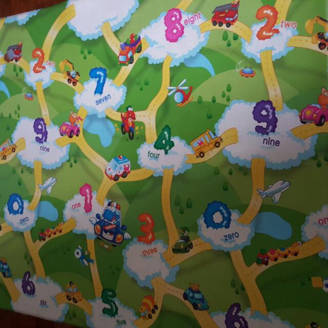Baby Dinoops Large Dwinguler Playmat Made In Korea Toxic Free