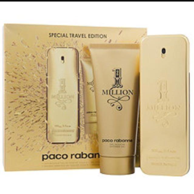 3db1cc3d26 Paco Rabanne One Million EDT 100ml Gift Set.