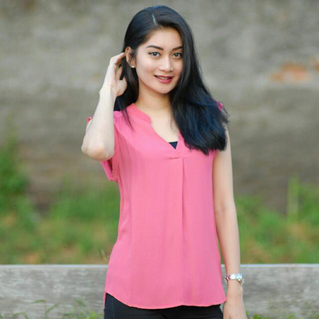 Pink Casual Blouse SALE