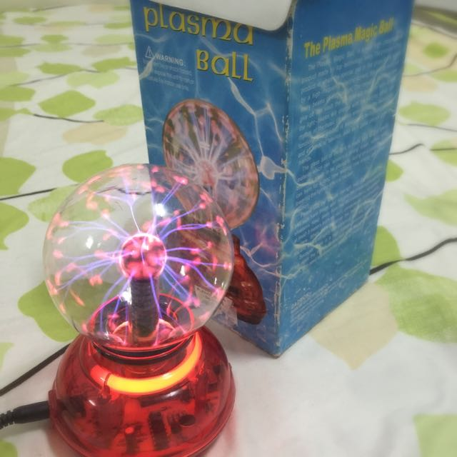 Plasma Ball (used) AVAILABLE!!!!!!