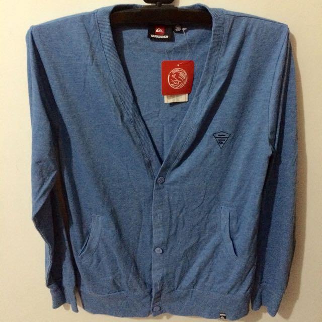 Quiksilver 藍色針織衫 S號