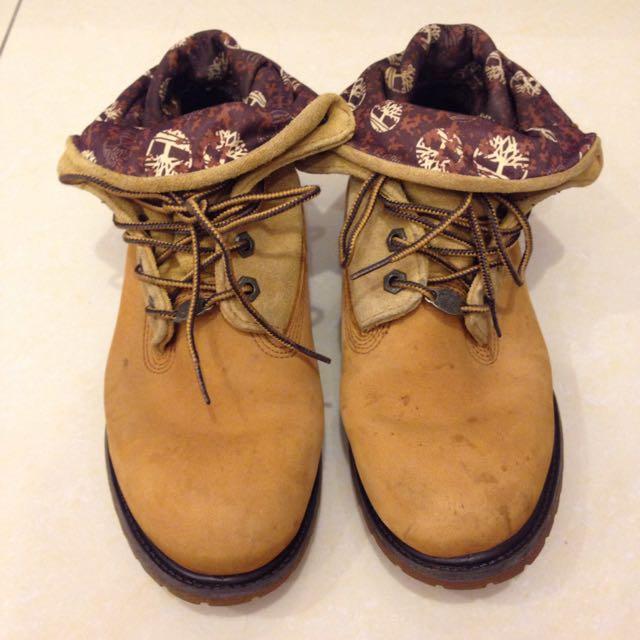 Timberland翻領靴