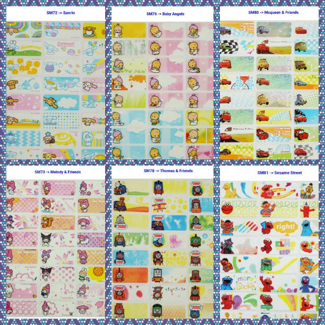 Waterproof name sticker labels everything else on carousell