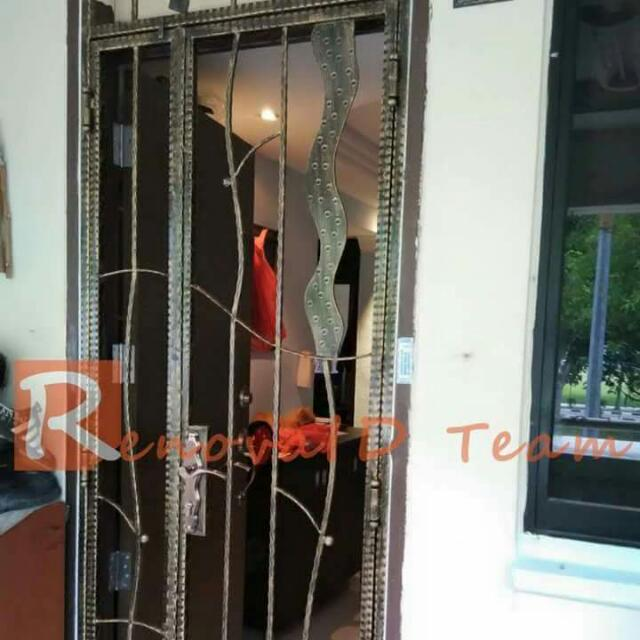 Wrought Iron Gate For Hdb At Factory Price Furniture On