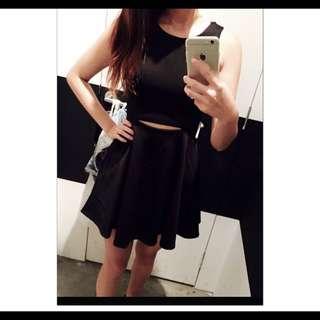 全新 新加坡購入 黑色洋裝