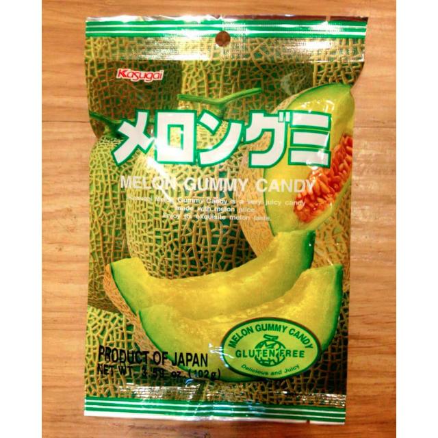 春日井❤哈蜜瓜軟糖-102g