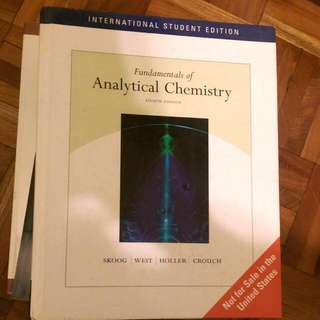 Fundamentals of Analytical Chemistry 8E