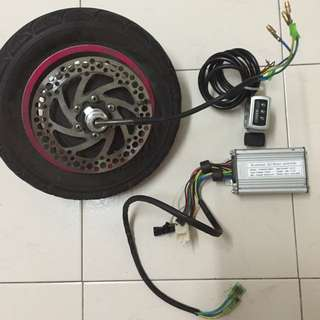 Used - Stick Inokim Motor/wheel , Controller And Throttle Set