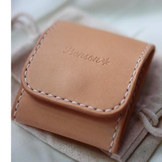Benson 手縫皮件  手工 手縫 方塊型 零錢包