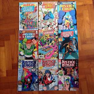 JLA Justice League Of America Comics Retro