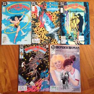 DC Wonder Woman Comics