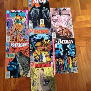 Vintage Batman Comics